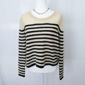 BP Nordstrom Striped Cropped Sweater
